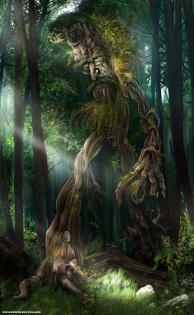 Barbol el Ent del bosque de Fangorn